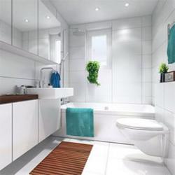 Как же они красивы – белые ванные комнаты!