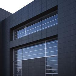 Фасадный керамогранит - его плюсы и удобство монтажа