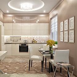 3D визуализация плитки, интерьера ванной комнаты, кухни или всего дома