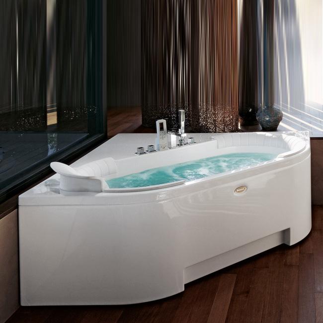 Гидромассажная ванна J-Sha Mi от Jacuzzi с настоящим режимом шиатцу.