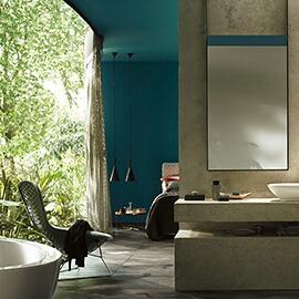Потрясающие идеи для ванной комнаты