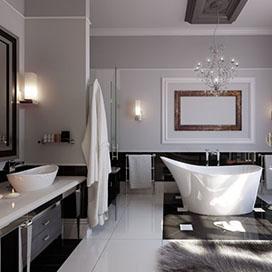 7 поразительных красочных цветов для вашей ванной комнаты
