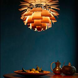 Знаменитые светильники «PH» от Луи Пульсен.