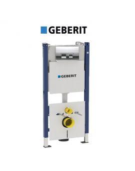 Инсталляция Geberit Duofix 458.168.21.1 (4-в-1) комплект (клавиша хром)