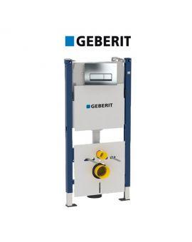 Инсталляция Geberit Duofix 458.178.21.1 (4-в-1) комплект (клавиша хром)