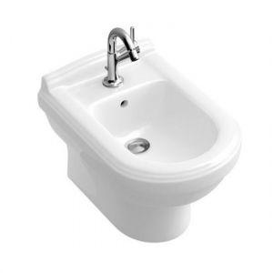 Биде подвесное Villeroy & Boch Hommage 60х37 см (альпийский белый ceramicplus)