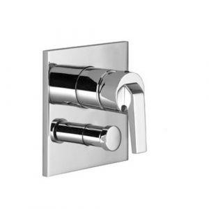 Однорычажный смеситель для ванны и душа Villeroy&Boch Square vogue 36 115 915-00