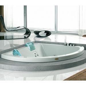 Ванна акриловая гидромассажная Jacuzzi Aquasoul Corner Aquasystem® 155 х 155 см
