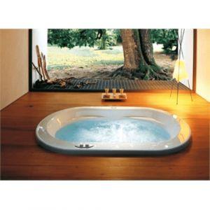Ванна акриловая гидромассажная 190х110 см Jacuzzi Opalia