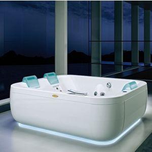 Ванна акриловая гидромассажная  Jacuzzi Aquasoul Extra Aquasystem® 190 х 150 см