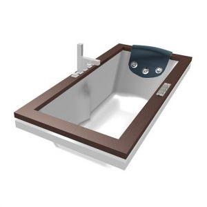 Ванна акриловая гидромассажня 180х90 см Jacuzzi Aura Uno