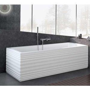 Ванна акриловая с аэромассажем Jacuzzi Moove Blower 160 x 70 см