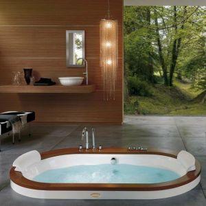 Ванна акриловая гидромассажная Jacuzzi Opalia Wood 190 х 110 см