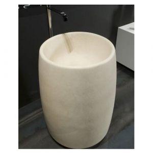 Напольная раковина из камня Antonio Lupi Barrel цвет Pietra Sinai