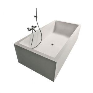 Ванна из материала Corian 170х70 см Antonio Lupi Biblio 2 Lati