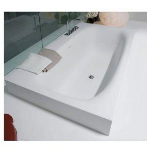Ванна из материала Cristalplant® 180х100 см Antonio Lupi Sarto 36