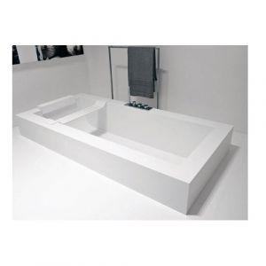 Ванна из материала Corian 180х80 см Antonio Lupi Biblio