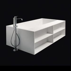 Ванна из материала Corian 170х90 см Antonio Lupi Biblio 2Lati