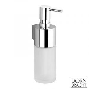 Дозатор для лосьона настенный, хрустальный Dornbracht Vaia/Lissé/CL.1 (цвет - хром/стекло матовае)