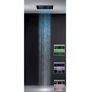 Верхний душ 500x500 Gessi Private Wellness COLOUR 32927-238 + 32855-238
