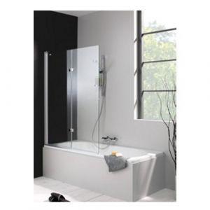 Распашная складывающаяся шторка на ванну Huppe 501 Design 175230
