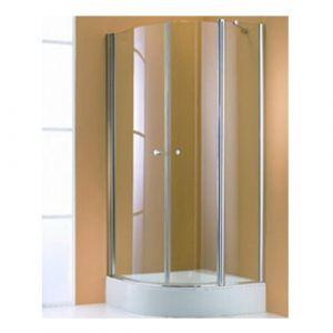 Душевой уголок с распашными дверцами с неподвижным сегментом Huppe 501 Design 510671