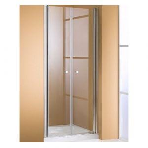 Душевая дверь Huppe 501 Design (профиль - серебро матовое; стекло - прозрачное)