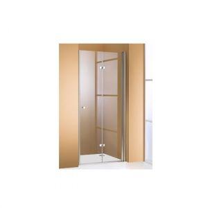 Распашная складывающаяся дверь в нишу Huppe 501 Design STF 1200 (профиль - серебро матовое; стекло - прозрачное)