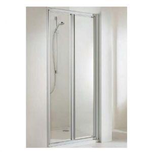Душевая дверь Huppe Alpha PT 750 (профиль - матовое серебро; стекло - прозрачное Patific S)