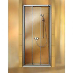 Раздвижная дверь в нишу Huppe Classics (профиль - серебро матовое; стекло - прозрачное)