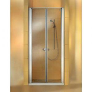 Душевая дверь в нишу Huppe Classics PT 1000 (профиль - матовое серебро; стекло - прозрачное)