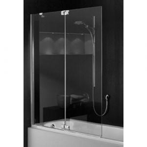 Шторка на ванну  с неподвижным сегментом  Huppe Studio Paris PT0429