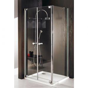 Душевой уголок с распашной двустворчатой дверью Huppe Studio Paris PT0169