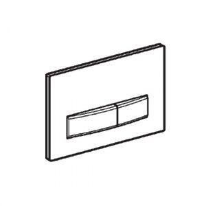 Смывная клавиша Geberit Sigma 50 (без вкладыша)