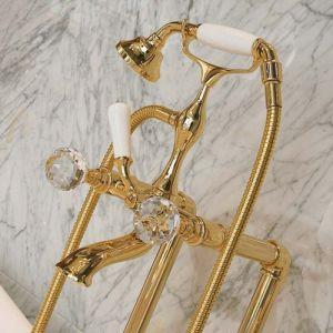 Смеситель для ванны Lineatre Cristal 095