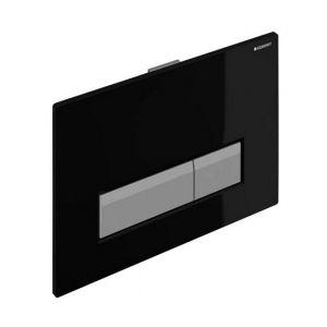 Cмывная клавиша Geberit Sigma 40 со встроенной системой удаления запаха (черная)