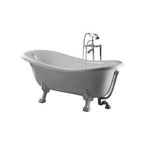 Ванна квариловая 170х80 см Globo Paestum + ножки