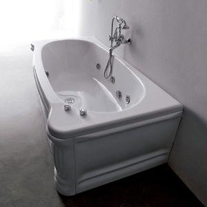 Ванна акриловая гидромассажная 170х85 см Gruppo Treesse New classic