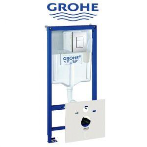 Инсталляция Grohe Rapid SL (4-в-1) комплект 38775001 (клавиша хром)