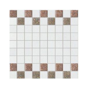 La Fabbrica Montenapoleone 300x300 961L20 Mosaico Starlight Oro Bianco Musa