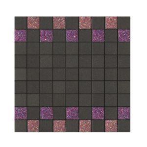 La Fabbrica Montenapoleone 300x300 961L29 Mosaico Starlight Rosso Fandango Musa