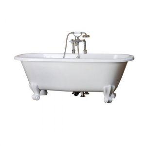 Ванна из материала QuarryCast® 167х74,5 см Victoria + Albert Classic + ножки