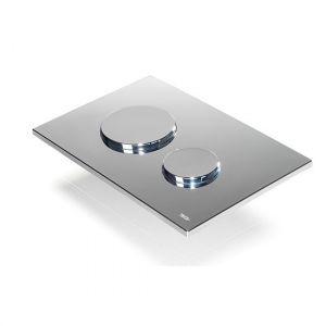 TECEloop панель смыва с двумя клавишами пластиковая (хром глянцевый)