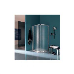 Душевое ограждение в форме четверти круга с 2 панелями, раздвижные двери Samo America Up
