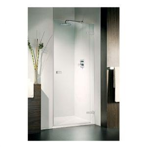 Дверь для ниши Duka Vetra 3000 безрамная 75х195 см (профиль - хром; стекло - прозрачное)