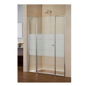 Duka Multi-S 4000 new Распашная дверь с доп. элементом и неподв. сегм. для ниши GFTFN
