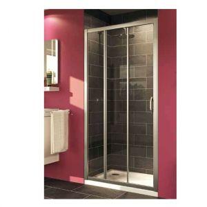 Душевая дверь Huppe X1 раздвижная трехсекционная (профиль - серебро с ярким блеском; стекло - прозрачное)