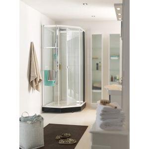 Душевая кабина Ido Showerama 8-5 90 х 90 х h222 см (профиль - белый, стекло - тонированное)