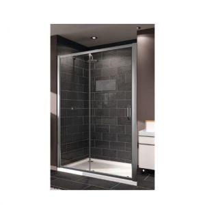Односекционная раздвижная дверь Huppe X1 1200мм (профиль - серебро с ярким блеском; стекло - прозрачное)
