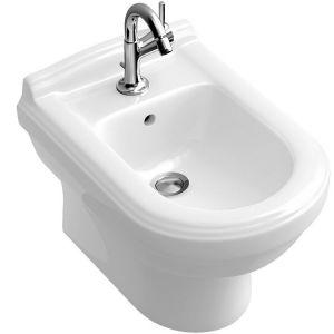 Биде напольное Villeroy & Boch Hommage 57,5х37 см (альпийский белый ceramicplus)